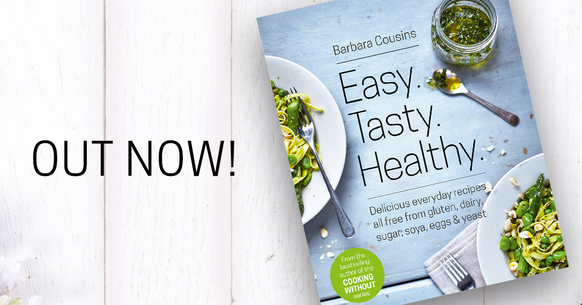 cooking without made easy all recipes free from added gluten sugar yeast and dairy produce cousins barbara